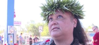 Hawaiians honor shooting victims with lei