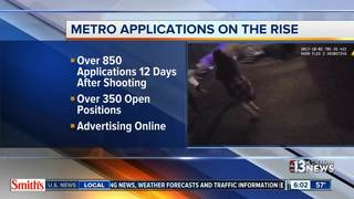 Las Vegas police applications on the rise