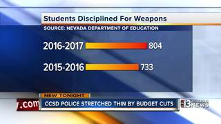 New data shows increase in school violence