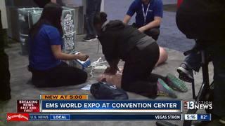 EMS World Expo happening this week in Las Vegas