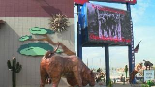 Vegas take a knee billboard stirs emotions