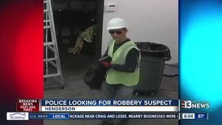 Henderson robber poses as construction worker