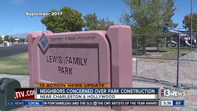 Park completed after weeks of collecting trash