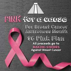 Breast Cancer Awareness Month events, specials