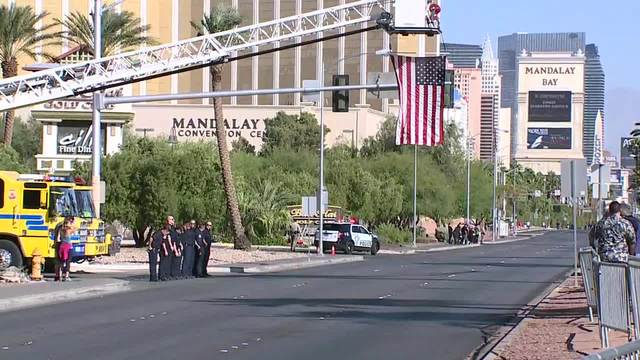 Officer killed in Las Vegas shootings remembered