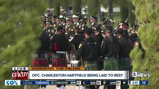 LVMPD Officer Charleston Hartfield-s funeral coverage