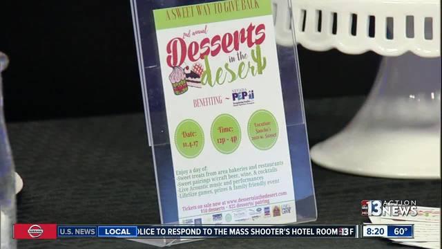 Desserts in the Desert fundraises for Nevada Pep