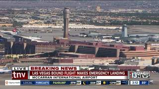 Vegas-bound flight forced to land in NY
