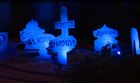 Halloween display honors defunct Vegas casinos