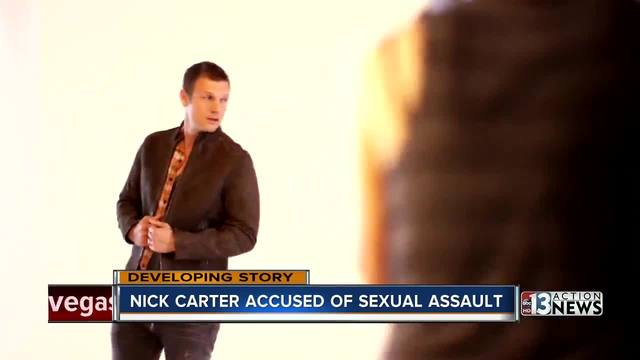 Nick Carter Accused of Sexual Assault