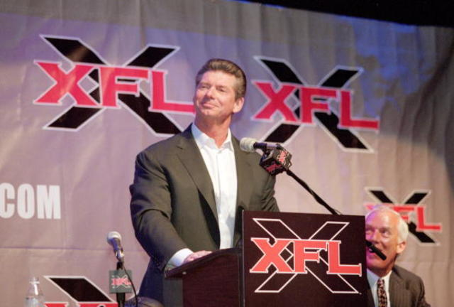 Is Vince McMahon plotting an XFL comeback?