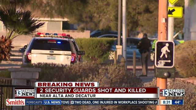 2 security guards killed at arizona charlie u0026 39 s decatur in