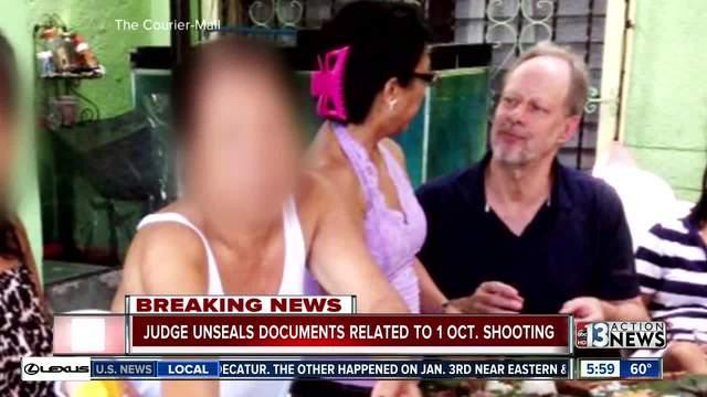 Federal judge orders documents released in 1 October shooting                      KTNV