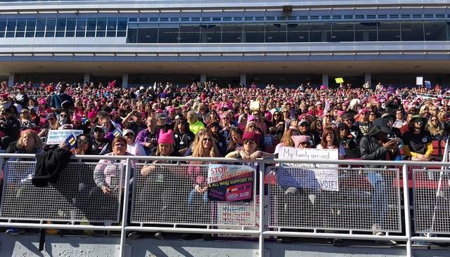 Thousands attend Women's March in Las Vegas