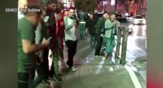 Video shows few help when man gropes woman