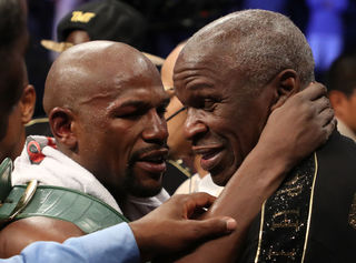 Mayweather Sr. says son headed toward UFC fight