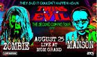 Rob Zombie, Marilyn Manson announce 2nd tour