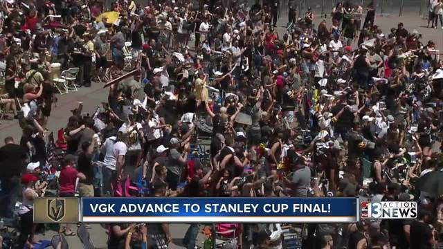 Golden Knights clinch Western Conference series against the Jets-…