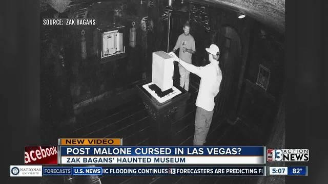 Post Malone cursed in Las Vegas-