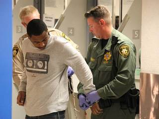 PHOTOS: Ammar Harris in custody at CCDC