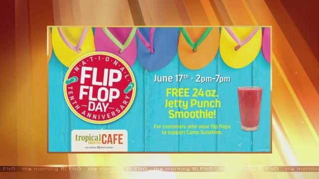 Flip flop morning