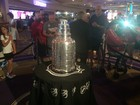 Stanley Cup on display at Hard Rock hotel-casino