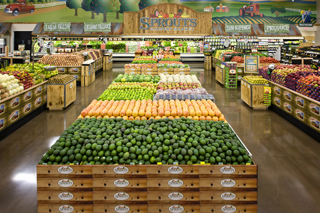Sprouts hiring 140 employees for location near Rainbow, Warm Springs ...