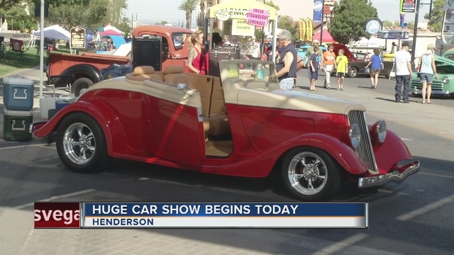 Super Run Classic Car Show Pulls Into Henderson This Weekend KTNV - Car show in vegas today
