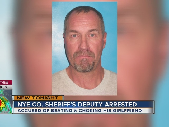 Nye County Sheriff S Deputy Arrested For Domestic Battery