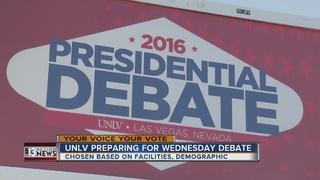 UNLV prepares for final presidential debate