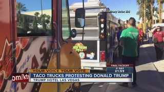 Taco truck held at Trump Hotel before debate