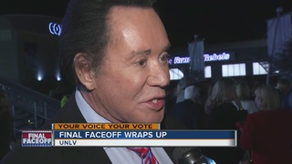 Wayne Newton, Karla Ortiz among guests at debate