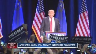 Adelson, Wynn among Trump's inaugural committee