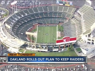 Group submits plan to keep Raiders in Oakland
