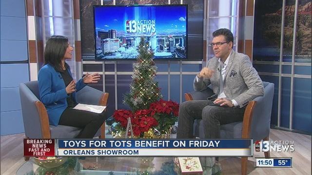 Las Vegas Toys For Tots : John katsilometes talks toys for tots ktnv las vegas