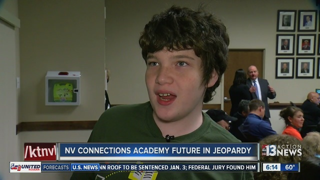 Families fighting hard to keep Nevada Connections Academy from ...