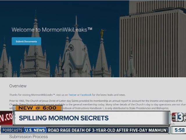 Henderson Man Creates Mormon Wikileaks Website Ktnv Las Vegas