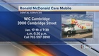 Ronald McDonald Care Mobile provides dental care
