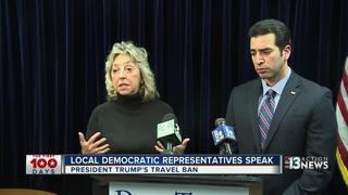Local Democrats condemn Trump's travel ban