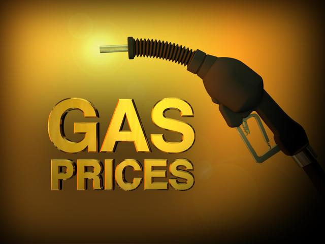 Average gas prices are 30 cents more than a year ago