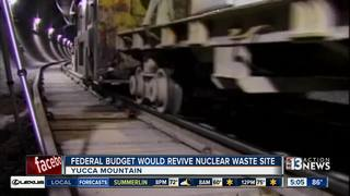 NV lawmakers opposed to reviving Yucca Mountain