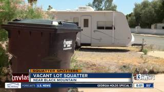 SQUATTERS: RV squatter dumping human waste