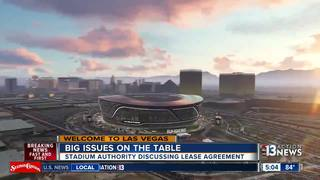 Stadium Authority works on Raiders lease