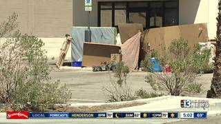 Tent city of squatters disrupting businesses