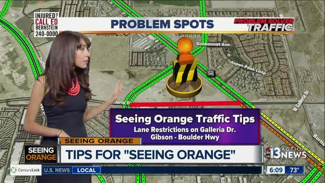 Seeing Orange weekly traffic tips for week of May 29
