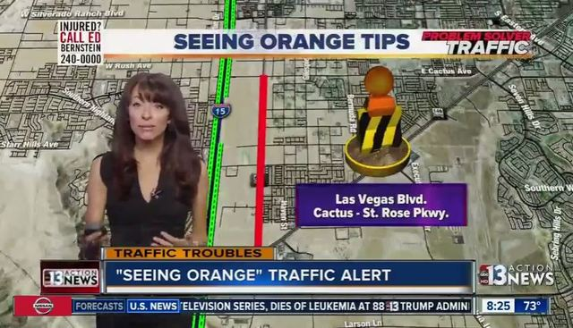 Seeing Orange Traffic Alert for week of June 11