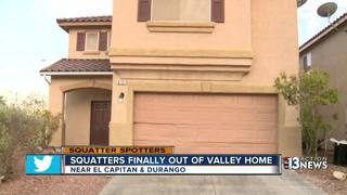 Alleged squatters move after Action News story