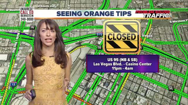 Seeing Orange Traffic Tips for July 19