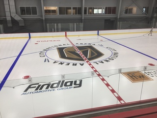 Golden Knights to host City National Arena party