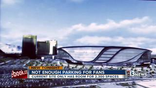 Raiders struggle to find parking for stadium